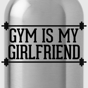 Gym Is My Girlfriend  Tröjor - Vattenflaska