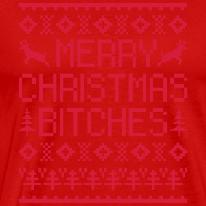 Merry Christmas Bitches  Tank Tops - Camiseta premium hombre
