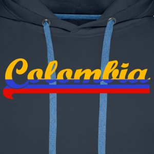 colombia T-shirts - Mannen Premium hoodie