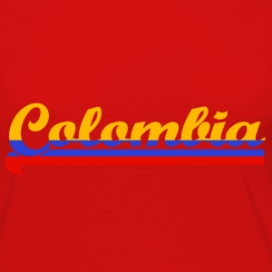 colombia Tee shirts - T-shirt manches longues Premium Femme