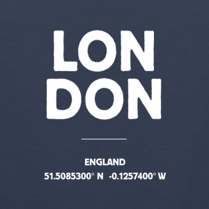 London England - Männer Premium Tank Top