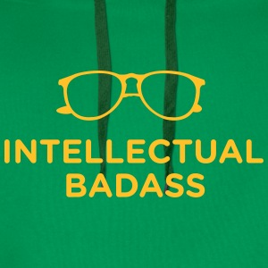 Intellectual Badass T-Shirts - Men's Premium Hoodie