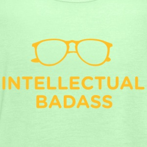 Intellectual Badass T-Shirts - Women's Tank Top by Bella