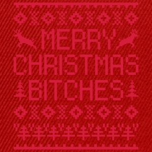 Merry Christmas Bitches  Tops - Snapback cap