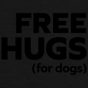 Free Hugs Dogs  Caps & Hats - Men's Premium T-Shirt