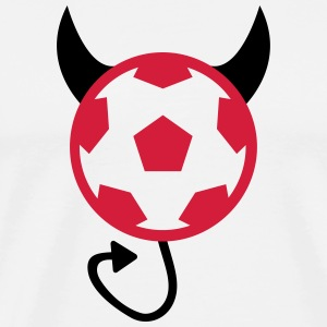 Football Soccer Devil Sweat-shirts - T-shirt Premium Homme