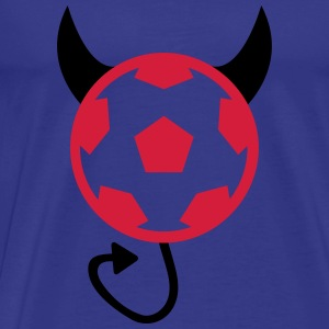 Football Soccer Devil Sweats - T-shirt Premium Homme