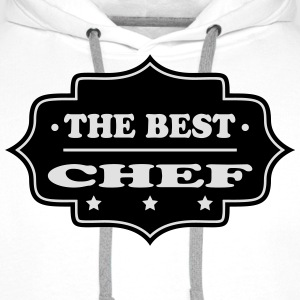 The best chef 111  Aprons - Men's Premium Hoodie