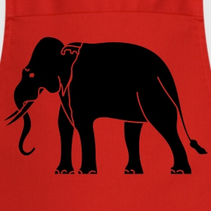 Siamese Asian Elephant T-Shirts - Cooking Apron