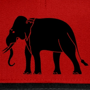 Siamese Asian Elephant T-Shirts - Snapback Cap