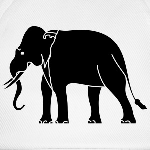 Siamese Asian Elephant T-Shirts - Baseball Cap
