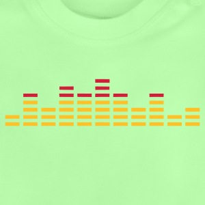 Equalizer EQ digital - Baby T-Shirt