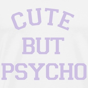 CUTE BUT PSYCHO Topper - Premium T-skjorte for menn