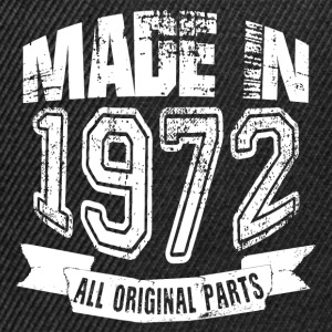 Made in 1972 - Gorra Snapback