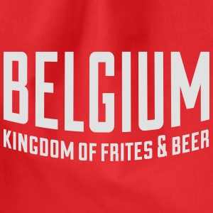 Belgium kingdom of frites & beer T-shirts - Gymtas