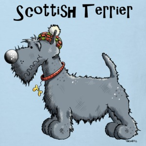 Happy Scottish Terrier Baby Bodysuits - Kids' Organic T-shirt