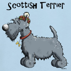 Happy Scottish Terrier Shirts - Kids' Organic T-shirt