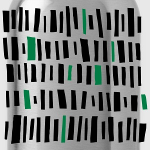 Bar Pattern T-Shirts - Trinkflasche