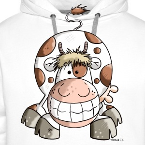 Happy Cow  Aprons - Men's Premium Hoodie