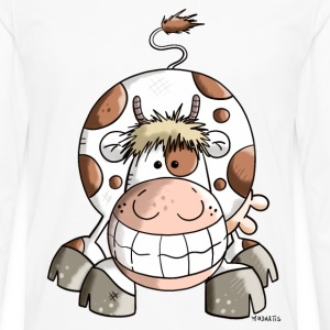Happy Cow  Aprons - Men's Premium Longsleeve Shirt