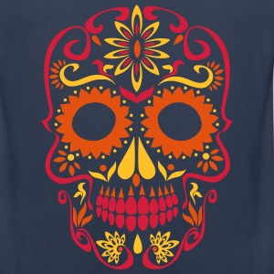sugar skull day of the dead Long Sleeve Shirts - Men's Premium Tank Top