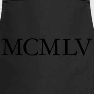 MCMLV Vintage 1955 Roman Birthday Year T-Shirts - Cooking Apron