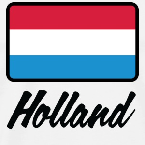 Nationale vlag van Holland Tops - Mannen Premium T-shirt