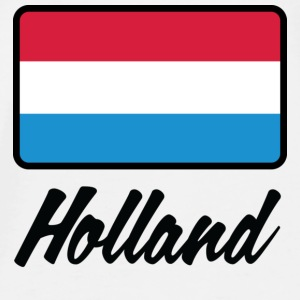 Nationale flag af Holland Accessories - Herre premium T-shirt