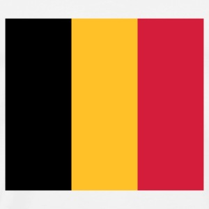 National Belgias flagg Gensere - Premium T-skjorte for menn