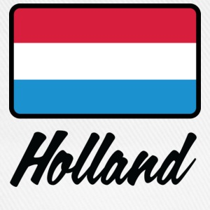 Nationale flag af Holland T-shirts - Baseballkasket
