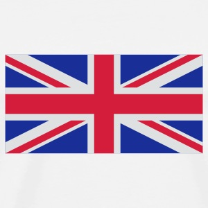 National flag of Great Britain Baby Bodysuits - Men's Premium T-Shirt