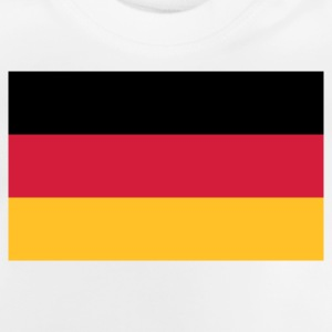 National tysk flag T-shirts - Baby T-shirt