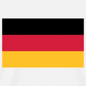 National flag of Germany  Aprons - Men's Premium T-Shirt