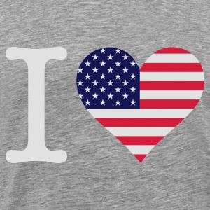 I Love America Sports wear - Men's Premium T-Shirt