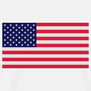 National flag of USA Mugs & Drinkware - Men's Premium T-Shirt