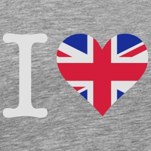 I love the United Kingdom Tank Tops - Men's Premium T-Shirt