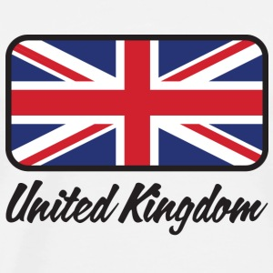 National Flag of the United Kingdom Long Sleeve Shirts - Men's Premium T-Shirt