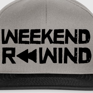 Weekend Rewind T-shirts - Snapback cap