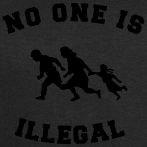 no one is illegal T-shirts - Sweatshirt herr från Stanley & Stella