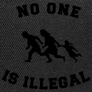 no one is illegal T-shirts - Snapbackkeps
