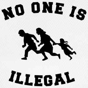 no one is illegal T-shirts - Basebollkeps