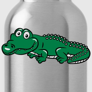 crocodile funny T-Shirts - Water Bottle