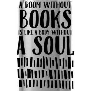 A Room Without Books Is Like A Body Without Soul Tassen & rugzakken - Drinkfles
