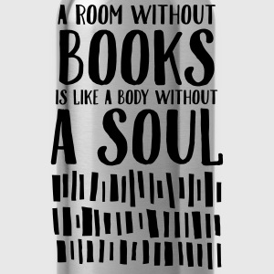 A Room Without Books Is Like A Body Without Soul Magliette - Borraccia