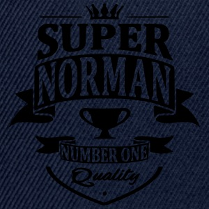 Super Norman Tee shirts - Casquette snapback