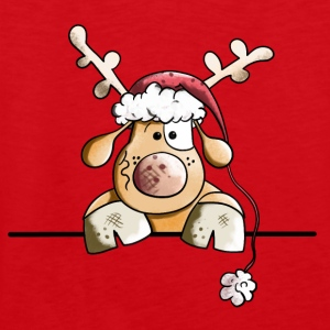 Rufus The Reindeer Long Sleeve Shirts - Men's Premium Tank Top