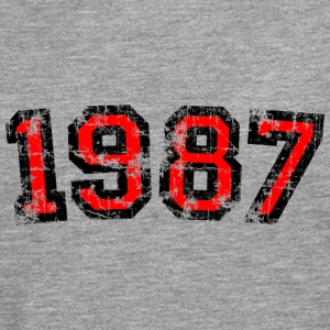 Year 1987 Birthday Design Vintage Anniversary T-Shirts - Men's Premium Longsleeve Shirt