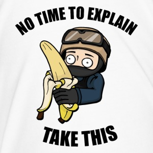 No Time to Explain, Take This Banana! - Men's Premium T-Shirt