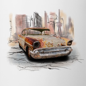 rusty car T-shirts - Mok
