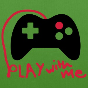 Play with me / Konsole / Gaming / Controller - Bio-Stoffbeutel